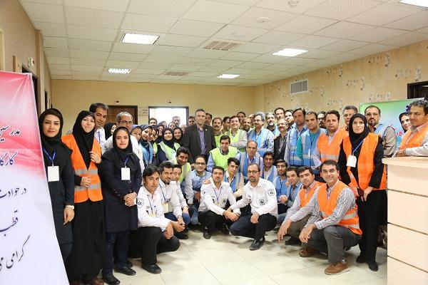 برگزاری کارگاه آمادگی بیمارستانی در حوادث و بلایا با حضور دکتر خانکه و مدرسین اورژانس کشور